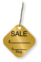 P921 - PRE-PRINTED PROMOTIONAL STRING TAGS (203)